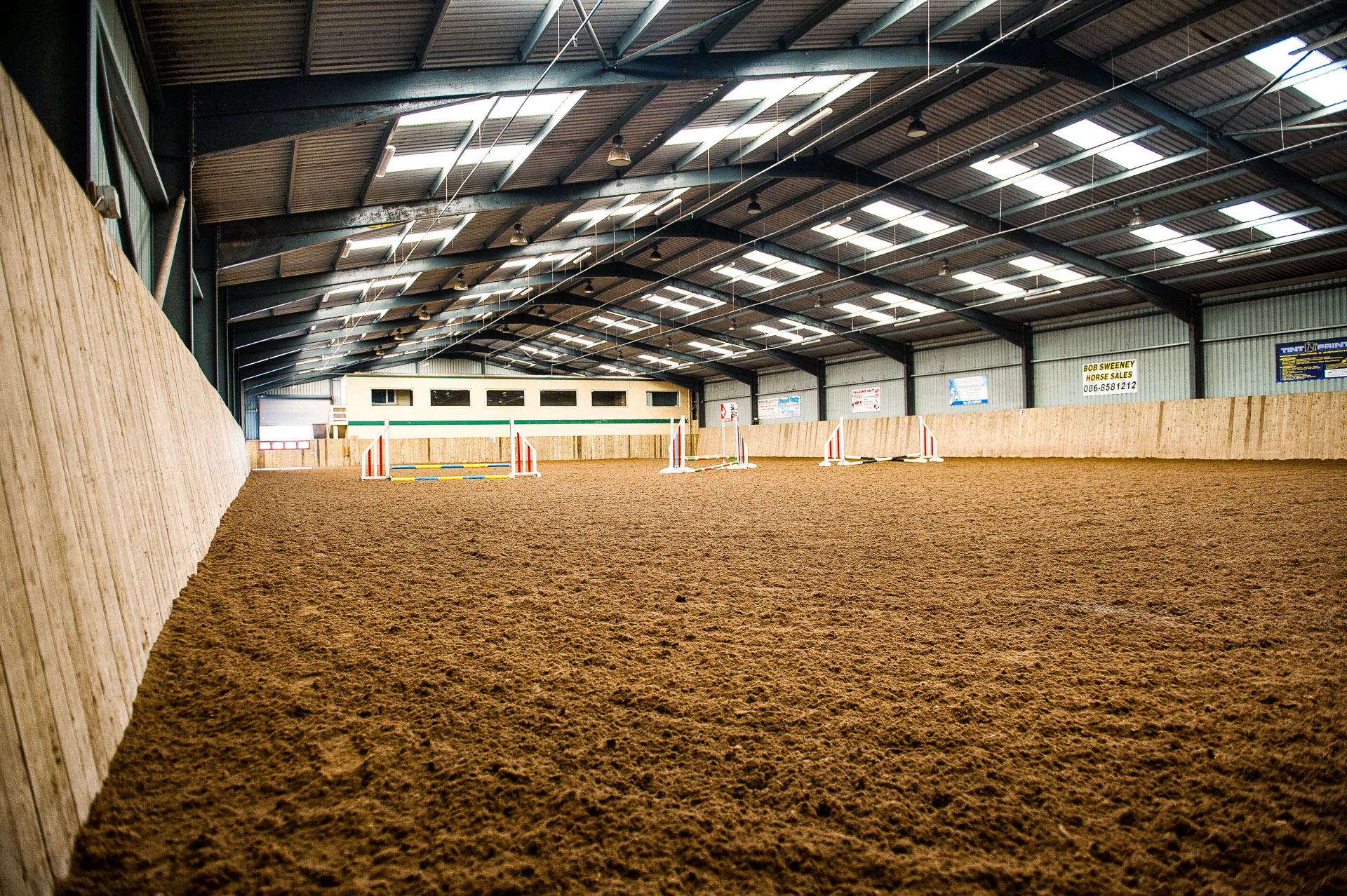 Big indoor arena.